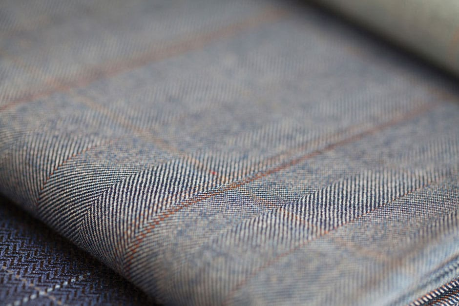 Finest Fabrics for hand-tailored suits at bespoke tailor Egon Brandstetter in Berlin