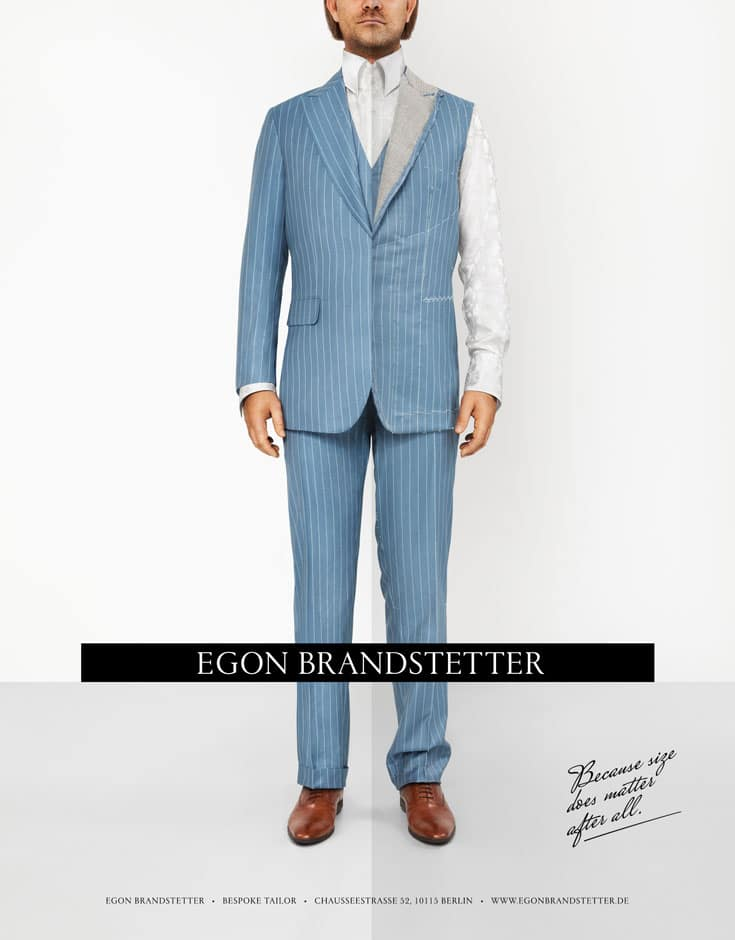 Egon Brandstetter advertisement in Zenith Magazine